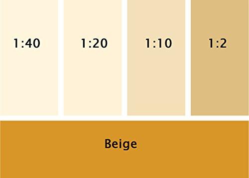 Silikat Vollton- & Abtönfarbe beige 250 ml