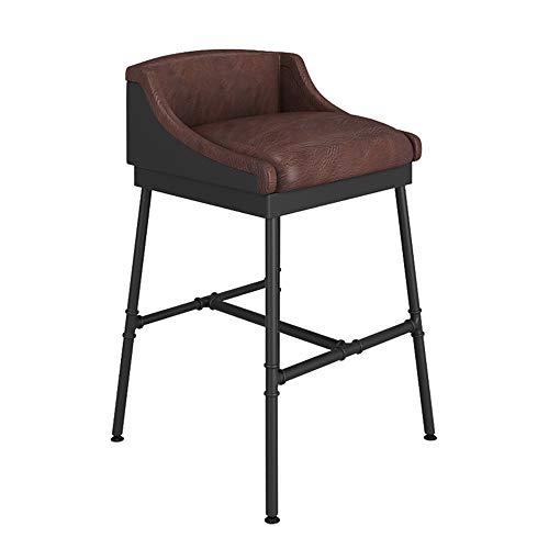 Zaixii barkruk, barkruk, ijzer, vintage, stoel hoog, kruk, barkruk, voor de Amerikaanse keuken, 81 cm, 90 cm