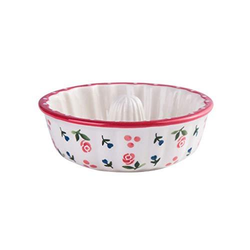 YASE-king Ciotola in Ceramica Fruit Salad Home Plate Piatto Ristorante Stoviglie Alimentari for casa 12.5x4cm Ciotola