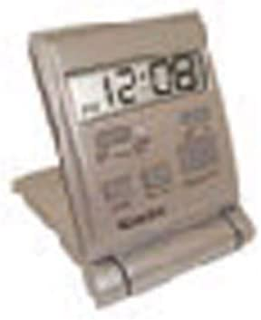 Westclox 47508S Travelmate Mesa Mall Travel Silver Inventory cleanup selling sale Clock Folding Alarm