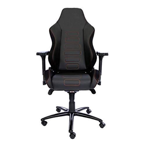 Computer Stoel gamestoel Game Chair baas chair draaistoel Ergonomische Stoelen rugleuning Thuis student kan Lay Oranje M (geschikt for hoogte 1.75-184m) L ZHNGHENG (Size : Large)
