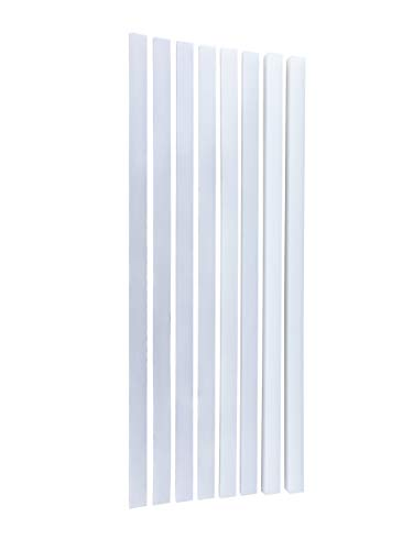 isenberg® Profi Teigleisten, 4er Set, aus Polyethylen (PE)
