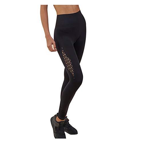 Leggings para mujer, pantalones de fitness de color sólido, transpirables, glúteos, pantalones de yoga para vacaciones de verano