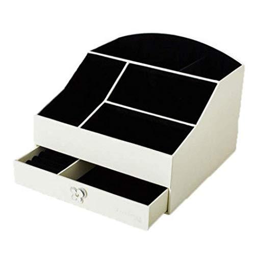 SHIJIAN Organizador cosmético de Maquillaje y joyería Cajas de exhibición de Almacenamiento...