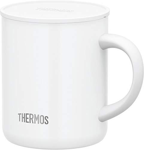 サーモス 真空断熱マグカップ ホワイト 350ml JDG-350C WH
