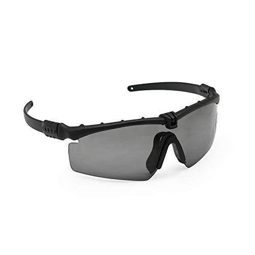 Polarized Military Sunglasses Ballistic Army Goggles Men Frame 3/4 Lens Combat War Game Eyeshields