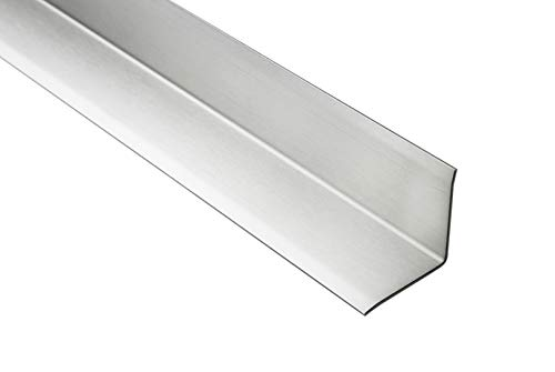 2 Meter | Eckschutzprofil L-Form | Edelstahl | Innenecke | 32mm | HEX240 SI
