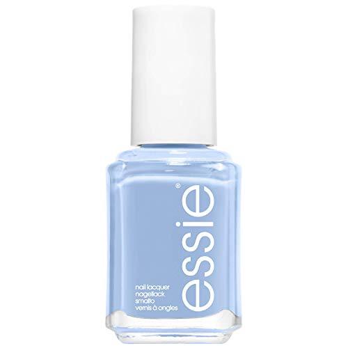 Essie Nagellack für farbintensive Fingernägel, Nr. 374 saltwater happy, Blau, 13,5 ml