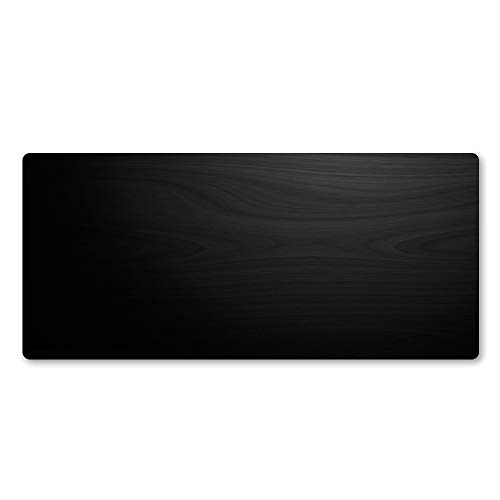 HonGHUAHUI zwart gestructureerde hoogwaardige muismat, het grote rubber notitieboekje, 900X400X2MM A05