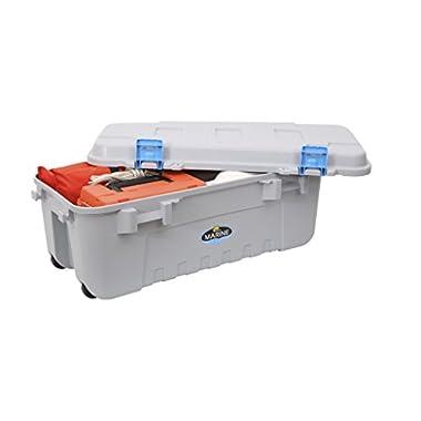 Plano Marine Box with OR Seal Marine, Grey/Blue, 56-Quart