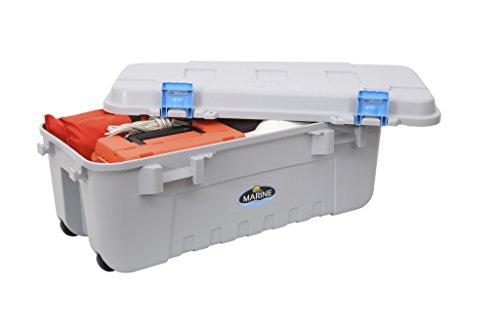 Plano Marine Box mit OR Seal Marine, Grau/Blau, 104 l