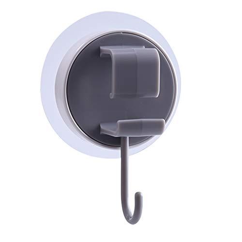 Hookup Gancho de Ventosa, Adhesivo Impermeable para Ducha, Gancho de baño de Cocina montado en la Pared, Adecuado para Toallas, Albornoces, Llaves, etc.