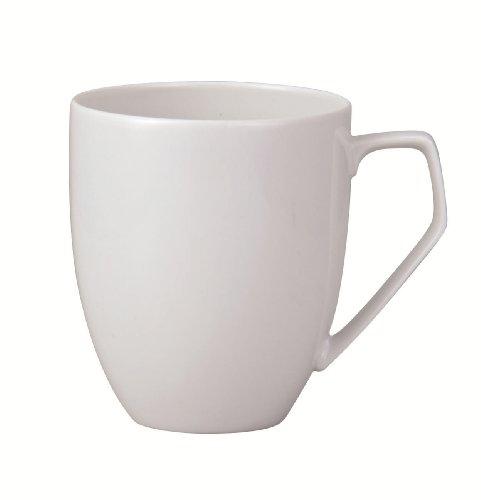 Rosenthal - TAC Gropius - Becher mit Henkel / Henkelbecher / Kaffeebecher - weiß - 0,36 l - Porzellan