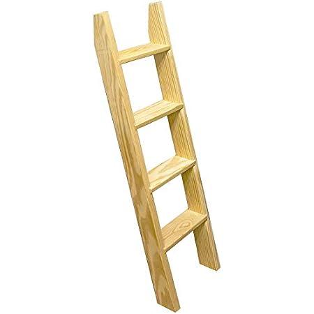 Tiny House,Yurts,Loft Bed,Bunkbeds,Chalkboard Wood-Rolling-Library Loft Ladder 5/'6/'7/'8/'TEAL-Ladder+LIBRARY KiT HARDWARE-6.6ft Rail+Wheels