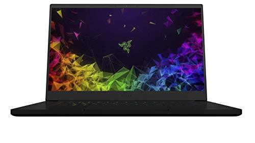 Razer Blade 15 Base Model 2019 (15.6 Zoll 4K OLED Display) Gaming Notebook (Intel Core i7-9750H, 16GB RAM, 512GB SSD, NVIDIA GeForce RTX 2080 Max-Q, Win 10, DE-Layout), schwarz (Generalüberholt)