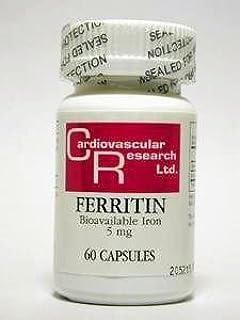Ecological Formulas - Ferritin 5 mg 60 caps
