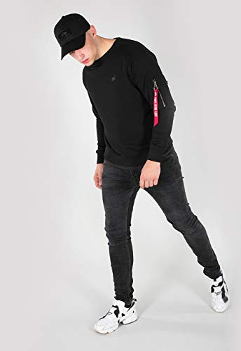 Alpha Industries X-Fit Sweatshirt Schwarz L