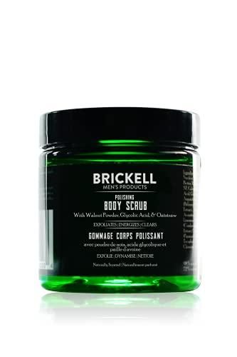 Brickell Men s Scrub lucidante per il corpo per uomo, esfoliante per il corpo naturale e biologico per rimuovere lo sporco, prevenire le macchie e illuminare la pelle