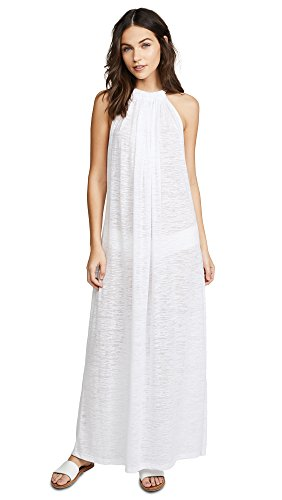 Pitusa Women's Aegean Cover Up, White, One Size