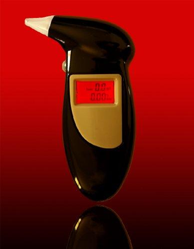 Bafometro Etilometro Digital Lcd Medidor Alcool Com Display