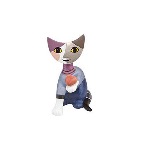 Goebel Minikatzen, Porzellan, Mehrfarbig, 4x6.5x8 cm