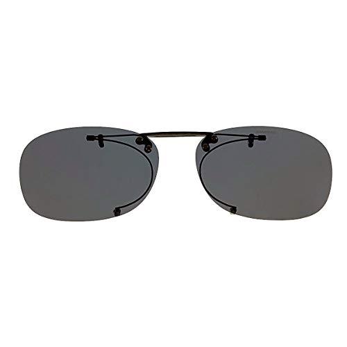 SWANS(スワンズ) 偏光サングラス メガネにつける クリップオン 跳ね上げタイプ SCP-2 SMK2 偏光スモーク2