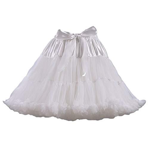 LaoZan Elegant Vrouwen Tutu Rokken Tule Petticoat Balletrok Meerlaagse Onderrok
