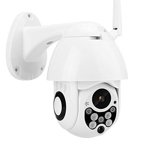 DAUERHAFT Caméra de Surveillance étanche de Nuit de Surveillance de Moniteur de sécurité WiFi sans Fil 1080P extérieur(European regulations)