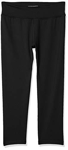 Amazon Essentials Mädchen Active Capri Legging, Schwarz (Black), 14-16 Jahre (Herstellergröße: US XXL )
