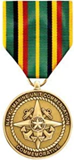 Medals of America Navy and Marine Unit Commendation Commemorative Medal Bronze