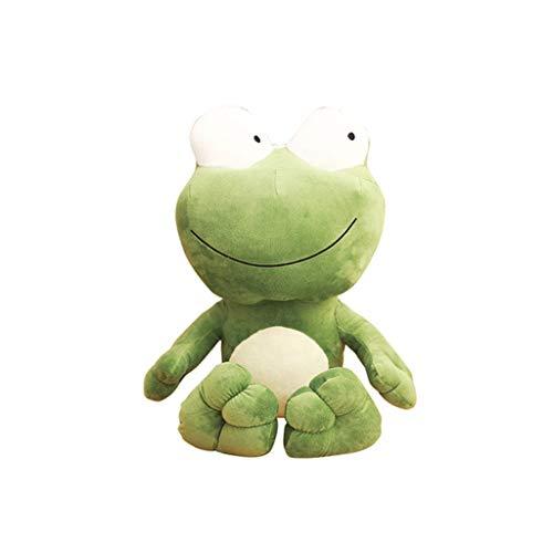 HUOQILIN Knuffel kikker groene kikker pop knuffel pop pop poppen slaap kussen geschenken (Color : 1, Size : 70cm)