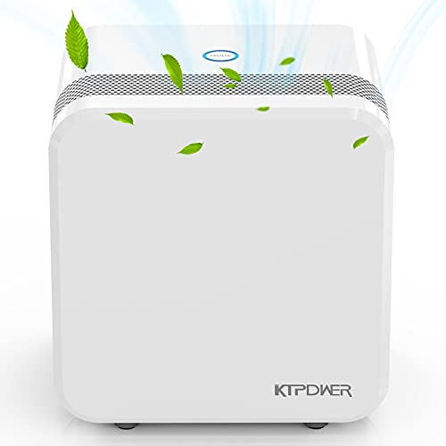 KTPDWER Dehumidifiers for Home 2500 Cubic Feet (280 sq ft), 35oz Dehumidifier for High Humidity with Two Working Mode, Portable and Quiet Dehumidifier for Bathroom, Bedroom, RV, Garage, Auto Shut off