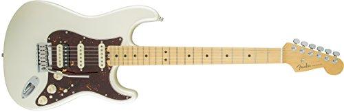 Fender Guitarra eléctrica American Elite Stratocaster HSS Shawbucker de arce Shawbucker 0114112723 – Perla olímpica