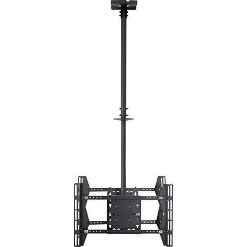 SpeaKa Professional Double TV-Deckenhalterung 81,3 cm (32) - 165,1 cm (65) Neigbar