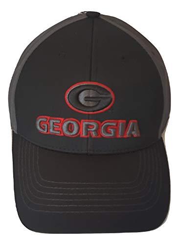 georgia bulldog flat bill hat - 2