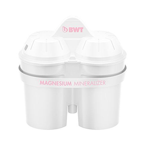 BWT Magnesium Mineralizer Filtro con Tecnologia Brevettata Confezione 5+1 filtri per Caraffe Filtranti-Prodotto adatto per il mercato Italiano.
