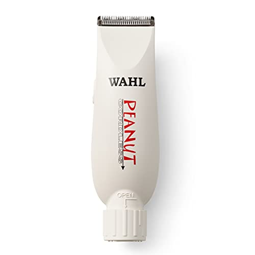 Wahl Professional Peanut Cordless Clipper/Trimmer, White
