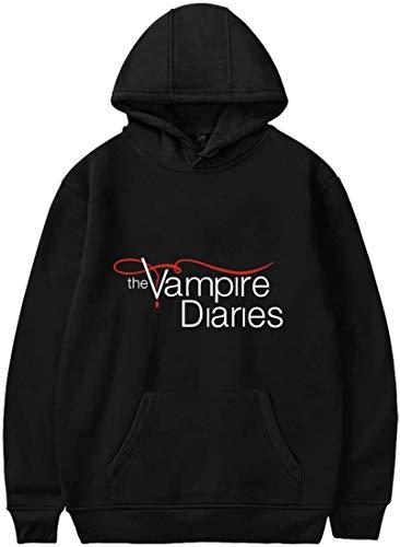 Shichangwei Womens Vampire Diaries Logo Hoodie Long Sleeve Sweatshirt Casual Sweater for Fangirl
