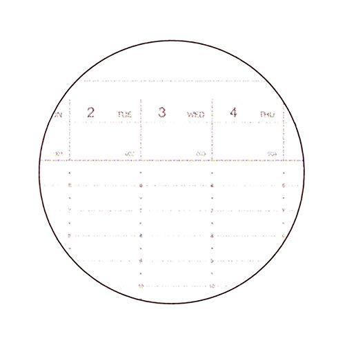 グリーティングライフ手帳モーメントプランナー2021年1月始まりA5バーチカルネイビーCD-1019-HT
