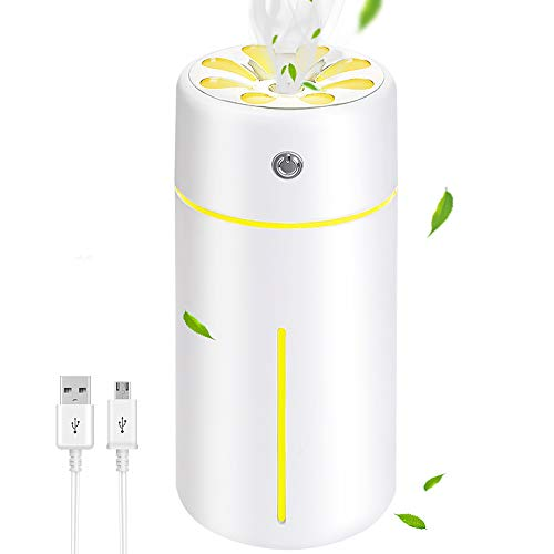 SunTop Luftbefeuchter, Diffusor Aromatherapie Aroma Diffusor 360ml, Einstellbares Nachtlicht, Ultra Leise Raumluftbefeuchter für Schlafzimmer, Kinderzimmer BPA-Free Öle Duftlampe Elektrisch
