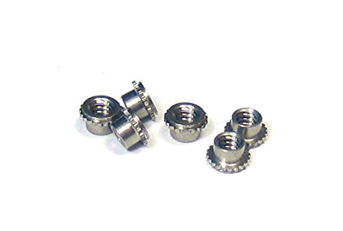 Miniature SELF-CLINCHING Max 88% OFF 2021 model PEM NUT 4-40: with Steel Stainless pa a