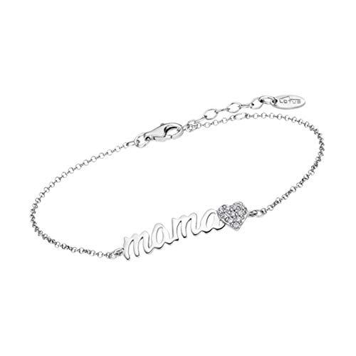 Lotus Silver J.Fée Pulsera de Plata esterlina para Mujer Pulsera Ajustable de Tenis de Cristal S925 Pulsera de Diamante Brillante Elegante Caja de Regalo de Cumpleaños de Navidad para Esposa Mamá