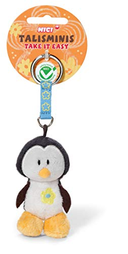 NICI 37389 - Pinguin Talisminis Take it Easy, 7 cm, Bean Bag Schlüsselanhänger