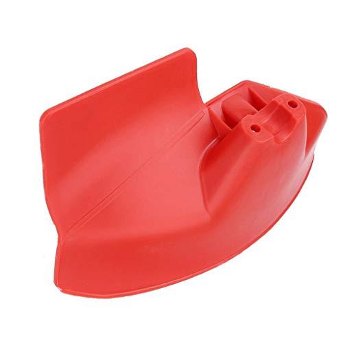 Luccase Carter de Protection pour débroussailleuse, en Plastique pour 24 26 28 28mm Débroussailleuse, Convient aux Machines à Arbre Droit Outil de Jardinage Multifonction