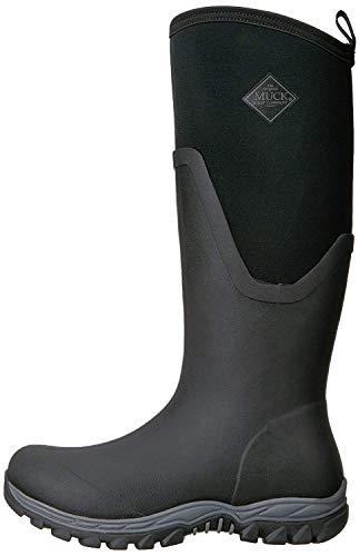 Muck Boots Damen Arctic Sport Ii Tall Gummistiefel, Schwarz (Black/Black), 42 EU