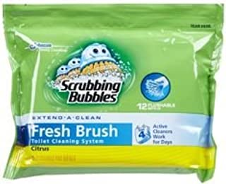 Scrubbing Bubbles Toilet Refills FLUSHABLE 10 CT