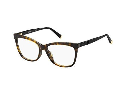 Max Mara MM 1263 KVX 52 Gafas de sol, Negro (Dkhavn Black), Mujer