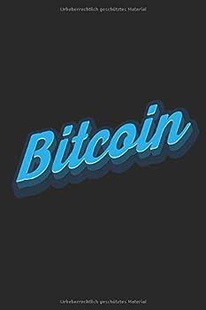 Notizbuch  Bitcoin  Liniert | Liniert | 6x9 | 120 Seiten | Glänzend | Kryptowährungen | BTC Logo | Bitcoin  German Edition