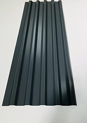 15 Stück Wellmetall-Dachplatten & Verkleidungen aus Aluminium, 0,9 mm