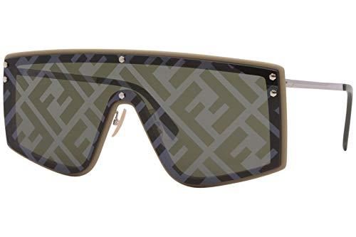 Fendi FENDI FABULOUS FF M0076/G/S BEIGE/BROWN 99/1/145 men Sunglasses